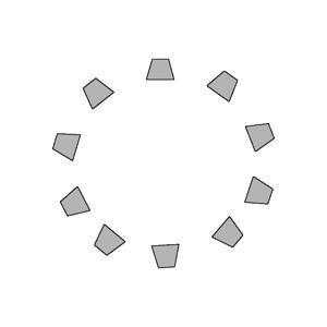 Kreisbestuhlung